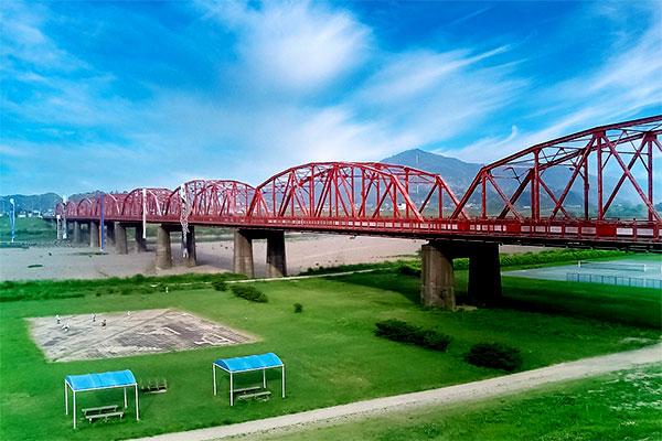 四万十橋(赤鉄橋)